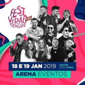 Fest Verão Sergipe 2019 @ Arena Eventos | Sergipe | Brasil